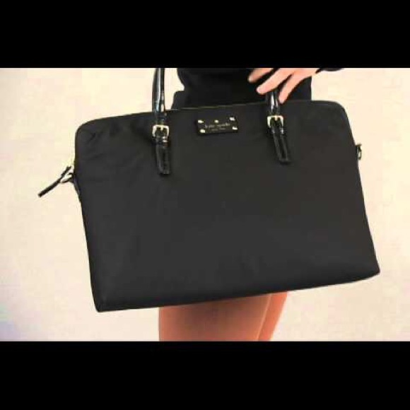 100% authentic 00ccb 72f5d ‼️Kate Spade Nylon Laptop bag